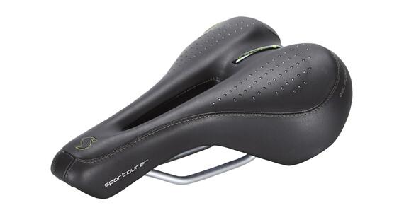 Sportourer FLX Gel Flow de Luxe ´15 zadel zwart